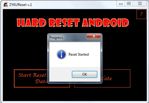 How to root ZYQ Q.Me T825W3. Root access. Factory Reset