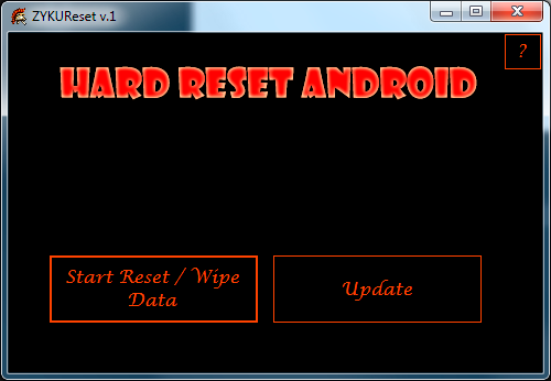 How to root Sharp R1. Root access. Factory Reset